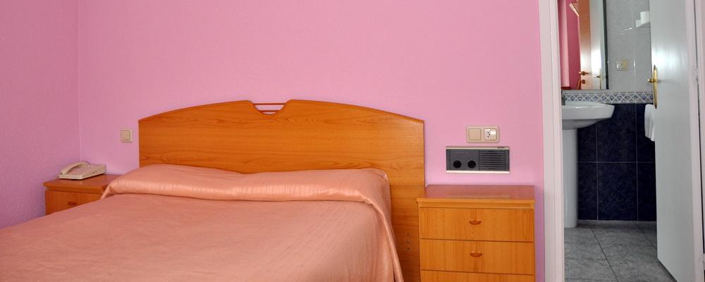 Habitación doble cama grande